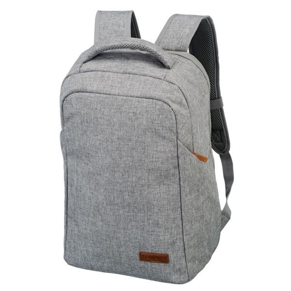 travelite Basics Safety Rucksack 46 cm hellgrau