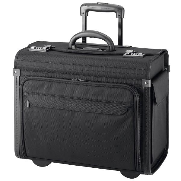 d&n Business & Travel Pilotenkoffer 46 cm 2 Rollen schwarz