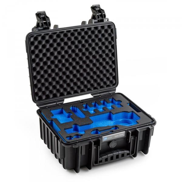 B&W Osmo Case Typ 3000 für DJI OSMO Plus / DJI OSMO X3 schwarz Innen leer